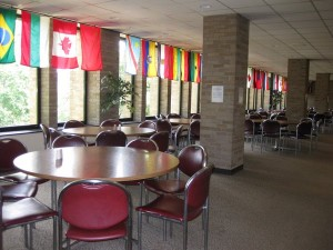 Flags of International Students
