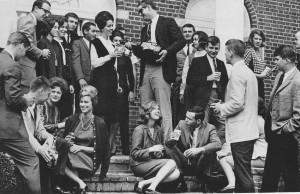 University of North Carolina at Chapel Hill, 1965 [via The Trad, Ivy League Look]