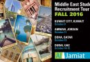 US University Fair – Middle East October 2016